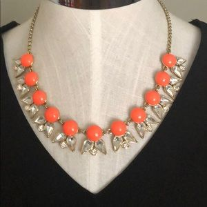 JCrew enamel and crystal necklace